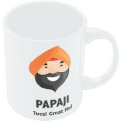 Fantaboy Papaji Tussi Great Ho ! Ceramic Mug