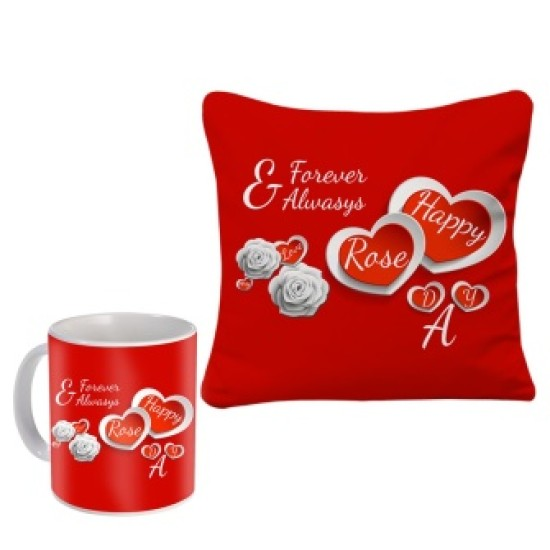 Fantaboy  Valentine Gifts  With Beautiful Red Heart Printed  Coffee Mug For Your Girlfriend,Boyfriend,Husband,Wife, Fiance, Fiancee  Or Your Loved Ones on Anniversary, Special Day