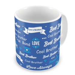 "Fantaboy  Birthday Gifts  With ""Best Brother"" Printed  Coffee Mug  For Your Brother  on ,Brother, Anniversary, Any Special Day For showing your Love To Him"