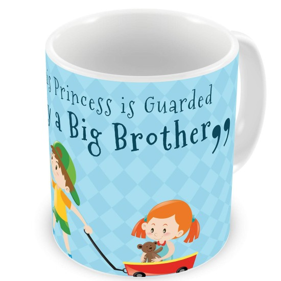 Fantaboy Birthday Gifts With Princess Carry By A Big Brother Printed Coffee Mug For Your Sister Brithday Anniversary Any Special Day Showing