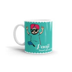 "Fantaboy  Best Anniversary  Gift  Combo Offer  ""Papaji & Mummyji Tussi Great Ho""Printed Coffee Mugs  For Your  Mother , For Your Father , For Your Mother-In-Law , For Your Father-In-Law on Anniversary,  AnySpecial Day"