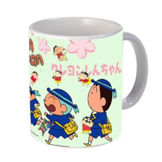 FantaBoy Cartoon Shinchan & School Friends Gang Printed  Coffee  Mug For your Son,Daughter,Sister,Brother Or Your Loved Ones on Birthday Or Any Day Gifting