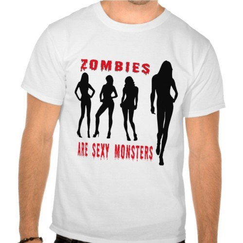 Fantaboy Sexy Zombies Printed T-Shirt