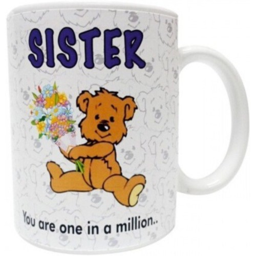 Fantaboy Sister You Are in A Milions Ceramic Mug