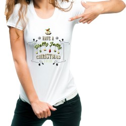 Fantaboy Have a Holly Jolly Christmas 2018 Printed T-Shirt