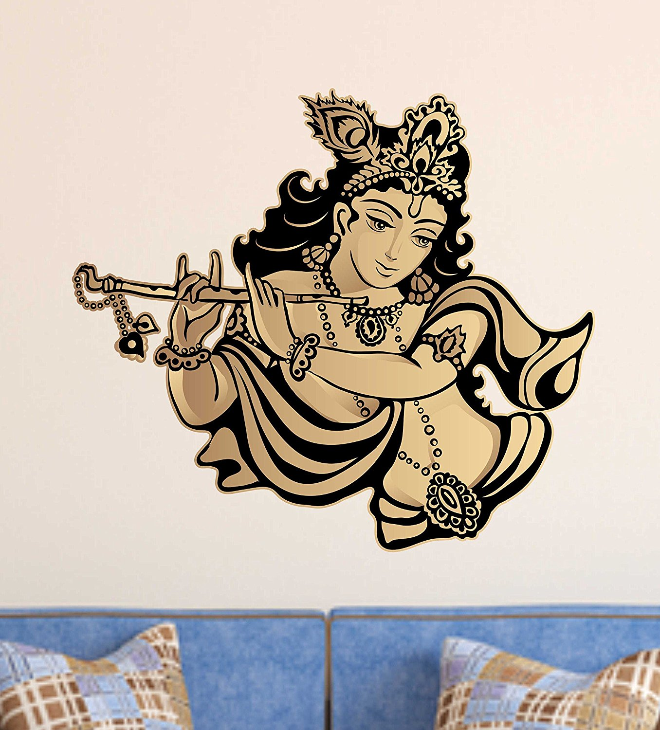 How to apply/paste a Wall Decal at home